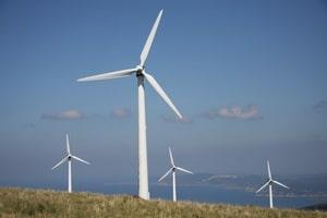 Le premier parc éolien de France