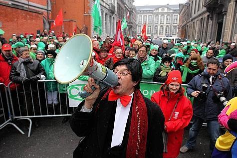 La Belgique en grève …  Et ??