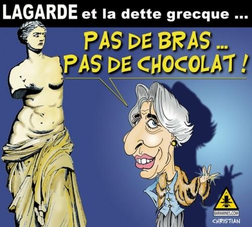Christine Lagarde, Vous connaissez …
