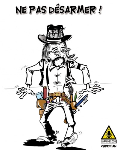 Avec nos seules armes … NOS CRAYONS !