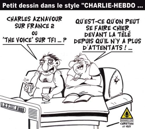 CHARLIE … Même pas mort !