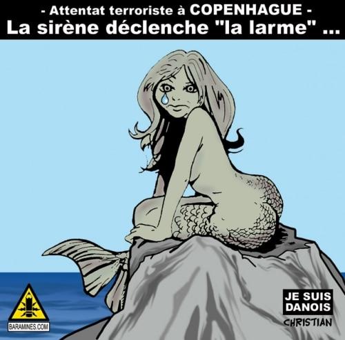 Attentat à COPENHAGUE …