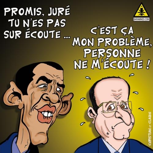 La FRANCE sur écoute …