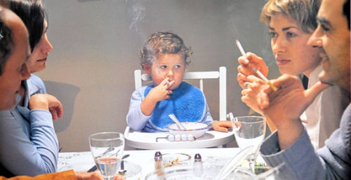 Questions sur le tabagisme passif
