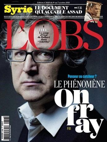 Michel Onfray: une nouvelle tentative d'assassinat médiatique