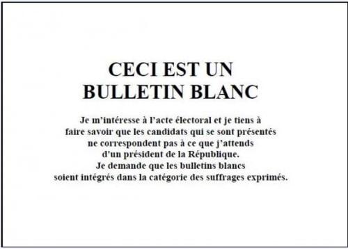 Election : Illusion, aliénation et consternation.