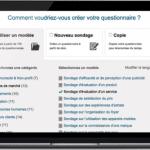 Les logiciels de sondage