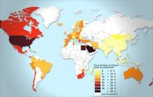 obesite dans le monde