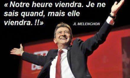Embellie pour Jean-Luc Mélenchon