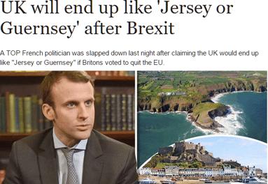 Le Brexit selon Macron : du machiavélisme de comptoir ?