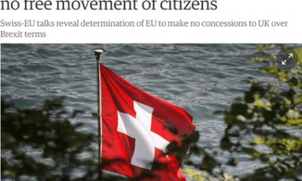 Après le Brexit : les avertissements suisses et étasuniens aux Britanniques