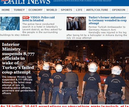 Turquie : la purge s'aggrave de jour en jour
