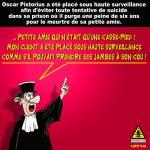 Oscar PISTORIUS ne participera pas aux JEUX PARALYMPIQUES 2016 …