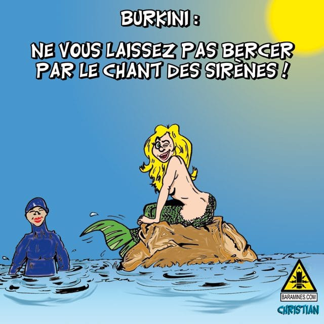 LE BURKINI … la diversion de rentrée !