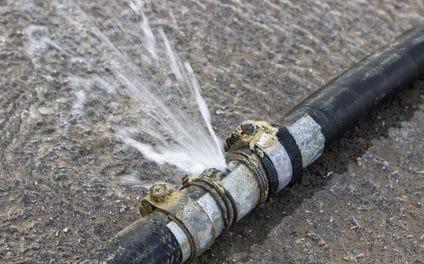 Comment réparer une fuite d'eau?