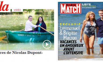 Macron vs Dupont-Aignan : les 2 faces d'1 même pièce