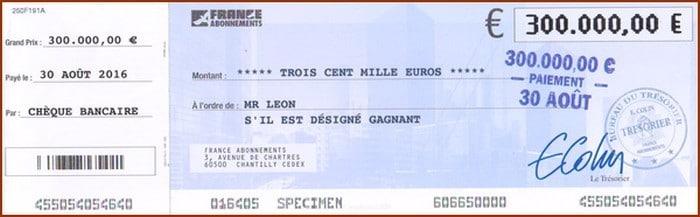 Chèque C4N