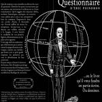 L'Étrange Questionnaire d'É. Poindron ou… le livre de la sortie