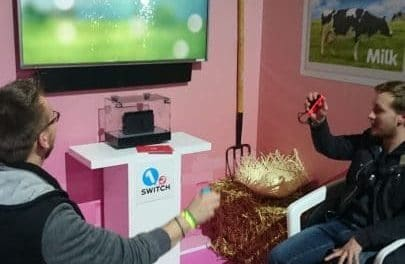 Présentation de la Nintendo Switch au Grand Palais