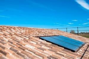 capteurs pour fonctionnement chauffe-eau solaire