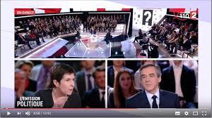 François Fillon invité de l'Emission politique sur France 2