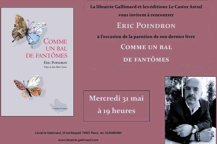 Comme un bal de fantômes, tel le vivace et charnel Éric Poindron