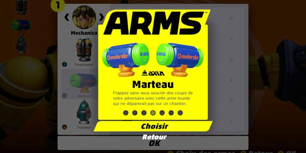 Arms : avis sur le Global Testpunch