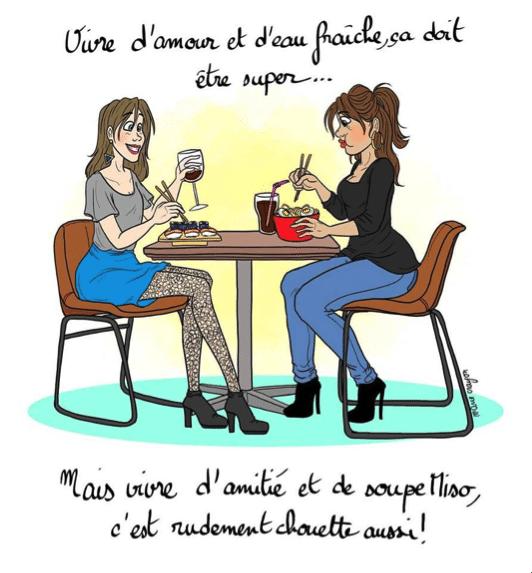 Marie Crayon, ou votre meilleure amie en dessins