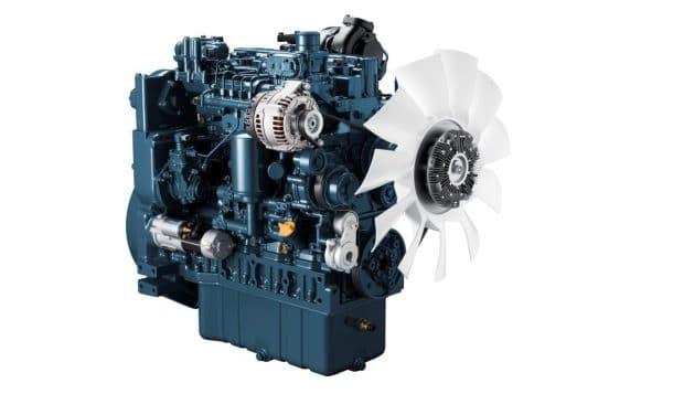 Kubota sera à Intermat pour présenter une nouvelle série de moteurs