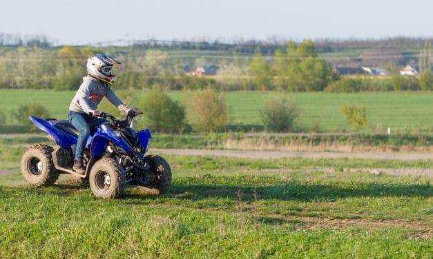Découverte : le quad pour enfant