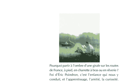 Éric Poindron dans L'Ombre de la girafe (ie, Zafara)