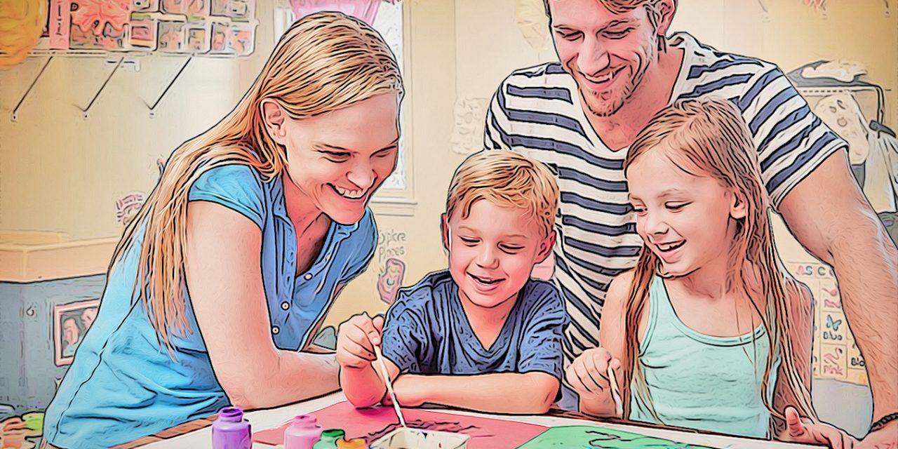 6 activités créatives à faire à la maison