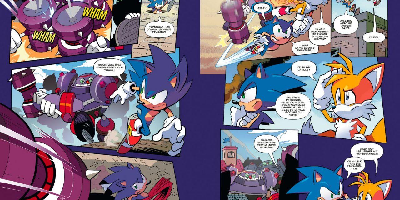 Sonic : avis sur le nouveau comics