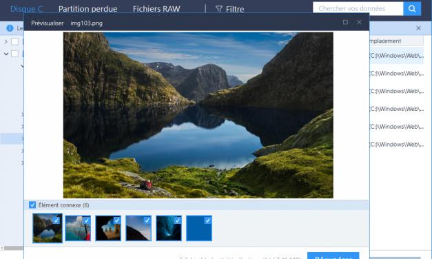 Récupérer des fichiers ou dossiers supprimés sous Windows 10 : présentation de EasUS Data Recocery wizard Free, votre solution miracle